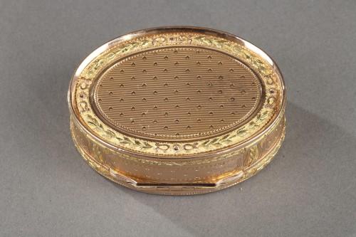 18th century - Louis XVI gold box