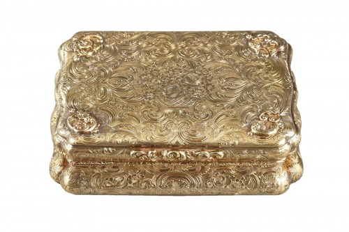 Mid-19th century Hanau Gold Box