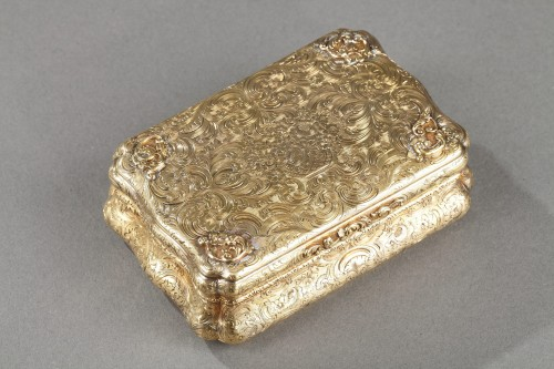 Mid-19th century Hanau Gold Box - Objects of Vertu Style Restauration - Charles X