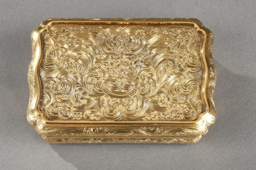 19th century - Mid-19th century Hanau Gold Box