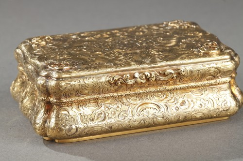 Restauration - Charles X - Mid-19th century Hanau Gold Box