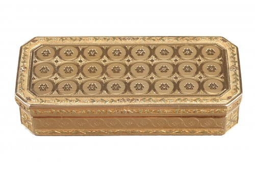 Early 19th century gold snuff-box louis galopin