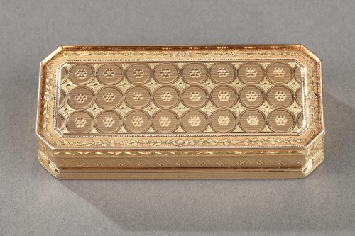 Early 19th century gold snuff-box louis galopin -