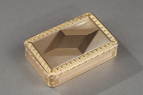 Early 19th century gold box - Objects of Vertu Style Restauration - Charles X