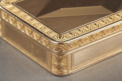 Early 19th century gold box -