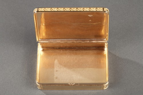 Early 19th century gold box - Restauration - Charles X
