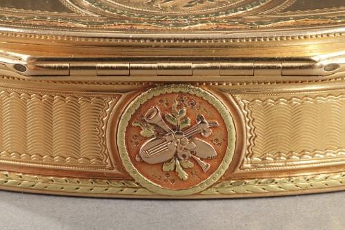 Gold snuff box - Louis XVI