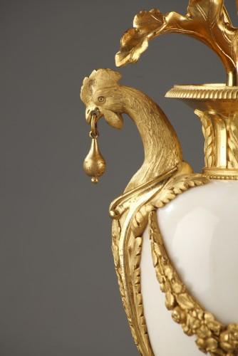 Pair of 18th century candelabras - Louis XVI