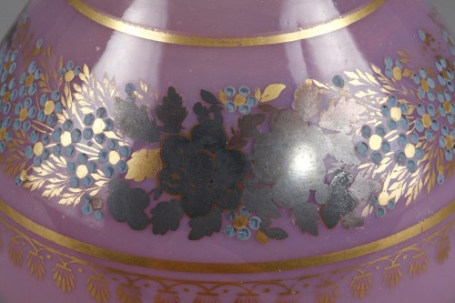 Early 19th Century Pink Opaline Bottle -