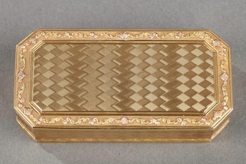 Gold Snuff box Late 18th century -