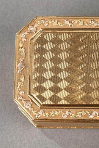 18th century - Gold Snuff box Late 18th century