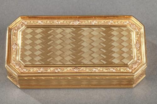 Gold Snuff box Late 18th century - Louis XVI