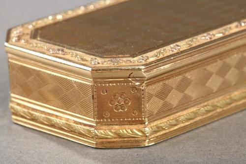 Louis XVI - Gold Snuff box Late 18th century