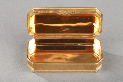 Antiquités - Gold Snuff box Late 18th century