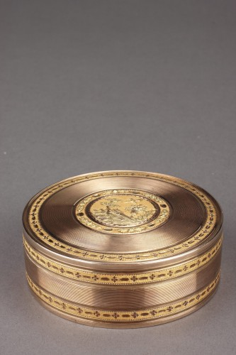 Large gold candy box 18th Century - Objects of Vertu Style Louis XVI