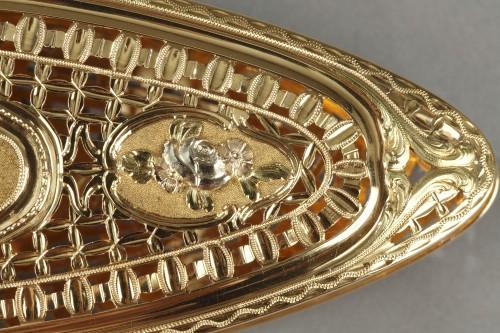 Antiquités - A Louis XV gold knotting shuttle