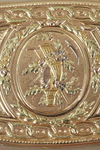 18th century - Louis XVI Gold snuff box. 1780.