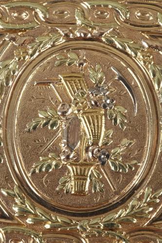 Louis XVI Gold snuff box. 1780.  - Louis XVI