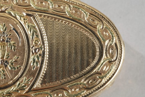 Louis XVI - Louis XVI Gold snuff box. 1780.