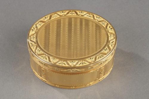 Louis XV important gold secret box. - Objects of Vertu Style Louis XV
