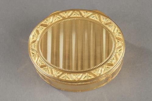Objects of Vertu  - Louis XV important gold secret box.