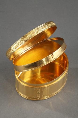 Louis XV - Louis XV important gold secret box.