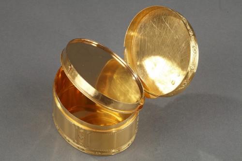 Antiquités - Louis XV important gold secret box.