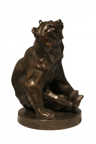 Bear Sitting - Georges GARDET (1863-1939)