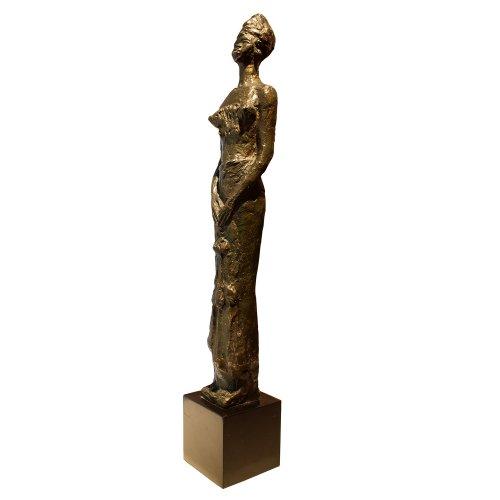 Young Peul - Marguerite Anne de BLONAY (1897-1966) - Sculpture Style