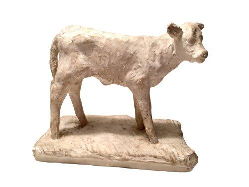 François POMPON (1875 - 1933) - Heifer - Sculpture Style