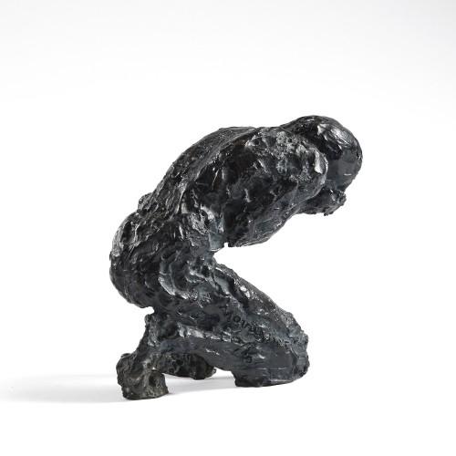 Sculpture  - Edmond MOIRIGNOT (1913-2002) - The Man at the Source