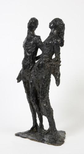 """Sculpture  - Edmond MOIRIGNOT (1913-2002) - """"Les Amants"""" (The Lovers)"""