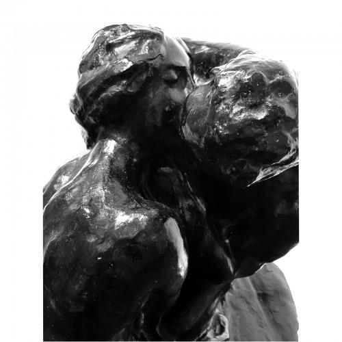 Sculpture  - Alfredo PINA (1887-1966) - The Kiss