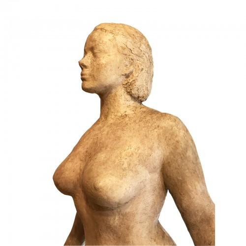 Marcel DAMBOISE (1903-1992) - La Christiane - Sculpture Style