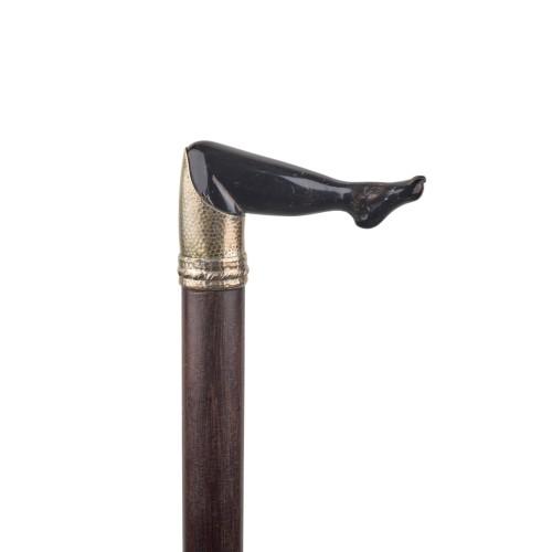 Woman's leg cane