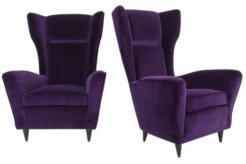 Pair of armchairs - IIco Parisi (1916-1996)