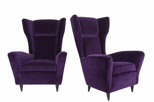 Pair of armchairs - IIco Parisi (1916-1996) - Seating Style 50