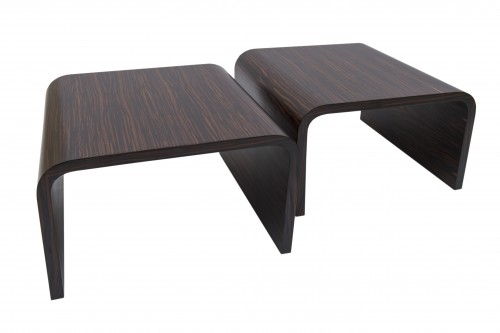 Pair of side tables - Michel Boyer