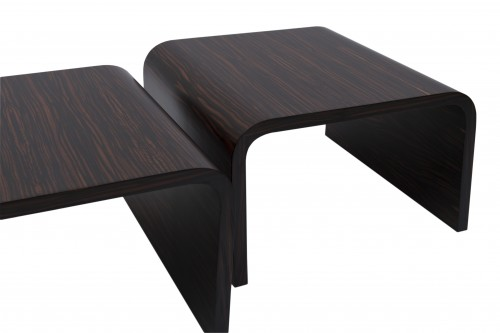Pair of side tables - Michel Boyer - Furniture Style