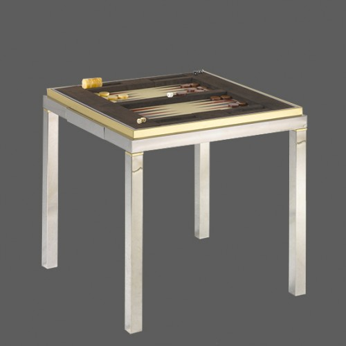 Game Table - Willy Rizzo (1928-2013) - Furniture Style
