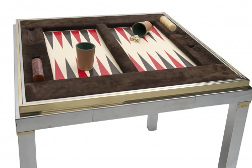 Game Table - Willy Rizzo (1928-2013) -
