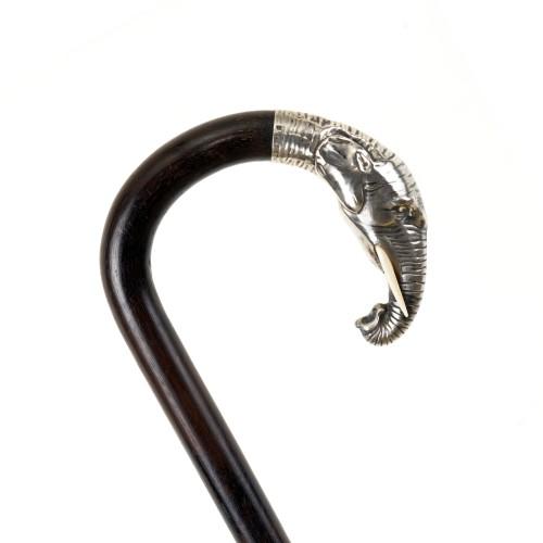 Silver Elephant cane