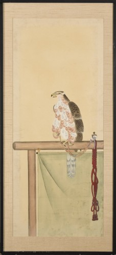 A series of eight gouaches on paper, Japan, Meiji Period. - Asian Art & Antiques Style