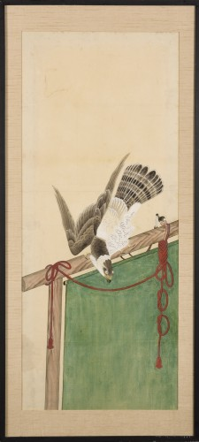 Asian Art & Antiques  - A series of eight gouaches on paper, Japan, Meiji Period.