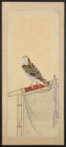 A series of eight gouaches on paper, Japan, Meiji Period. -