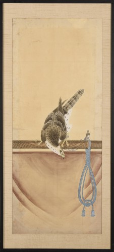 - A series of eight gouaches on paper, Japan, Meiji Period.