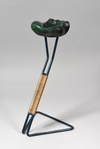 Decorative Objects  - Patte d'ours, cendrier, Georges JOUVE (1910-1964) & Mathieu MATÉGOT (1910-2001)