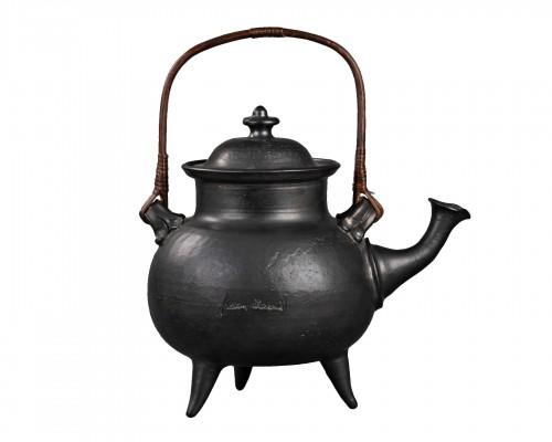 Important ceramic teapot signed Jean Marais (1913 - 1998)
