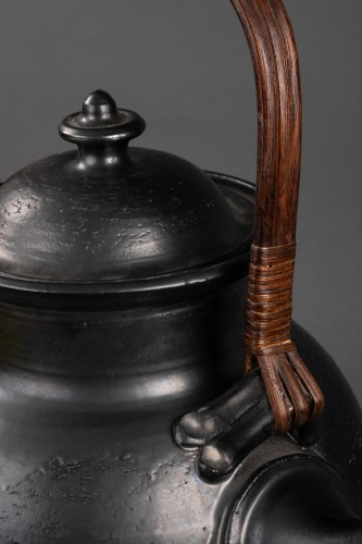 Important ceramic teapot signed Jean Marais (1913 - 1998) -