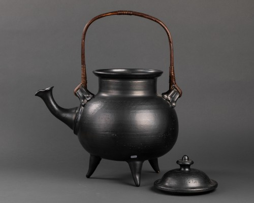 20th century - Important ceramic teapot signed Jean Marais (1913 - 1998)